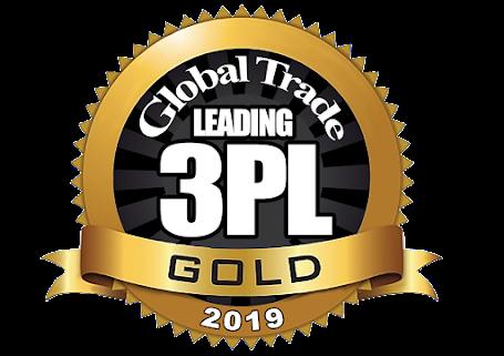 Global Trade 2019 Top 3PL Medallion